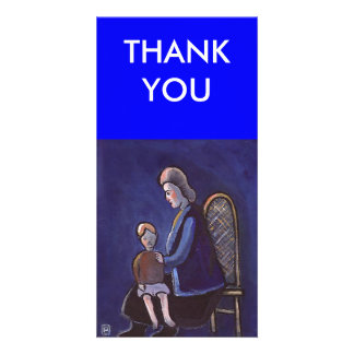 THE BABYSITTER, THANK YOU CUSTOMIZED PHOTO CARD