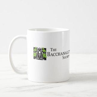 The Bacchanalian Society White Coffee Mug