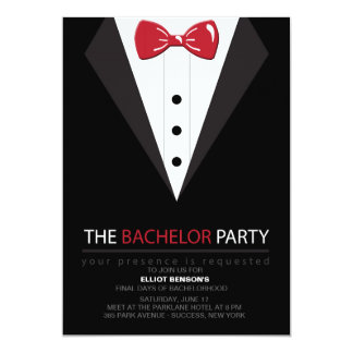 The Bachelor Party Invitation Zazzle_invitation2