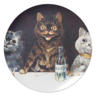 The Bachelor Party Melamine Plate
