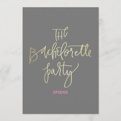 The Bachelorette Party Itinerary Program