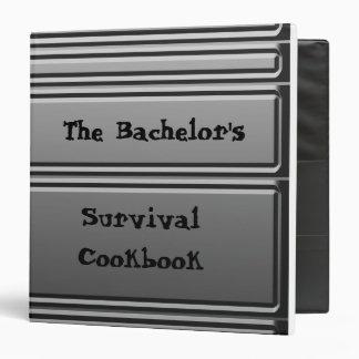 The Bachelor's Survival Cookbook Binder