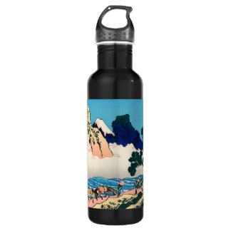 The back of the Fuji Water Bottle