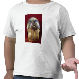 The back of the gold mask tshirts