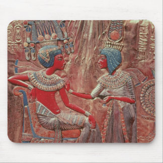 The back of the throne of Tutankhamun Mouse Pad