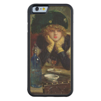 The Backgammon Players Carved Maple iPhone 6 Bumper Case