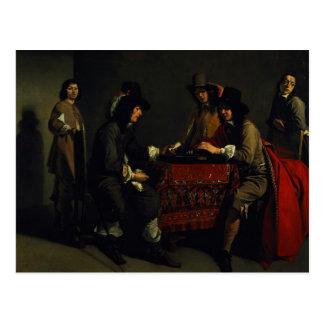 The Backgammon Players Postcard