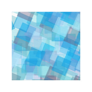 the-background-387205 ASSORTED BLUE LAYERED SQUARE Canvas Print