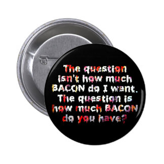 The BACON Question! Pin