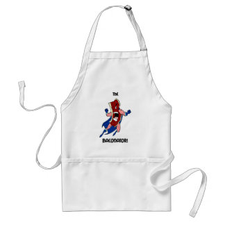 the baconator adult apron