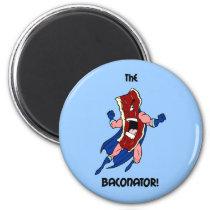 the baconator magnet