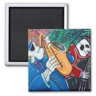 The Bad Blues Bone Band Magnet