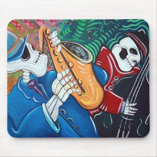 The Bad Blues Bone Band Mousepad
