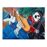 The Bad Blues Bone Band Post Card