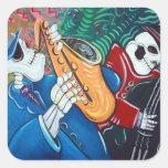 The Bad Blues Bone Band Stickers