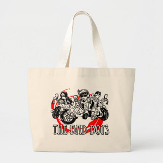 The Bad Boys of tricycle Large Tote Bag