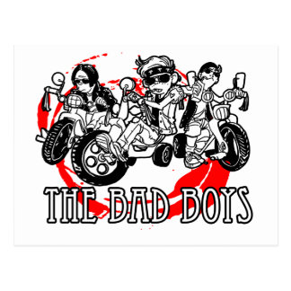 The Bad Boys of tricycle Postcard