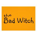The Bad Witch Custom Invite