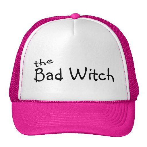 The Bad Witch Mesh Hats