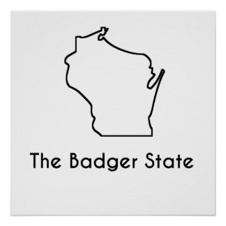 The Badger State Poster