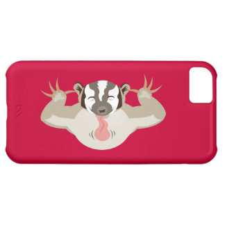 The Badgering Badger Cover For iPhone 5C