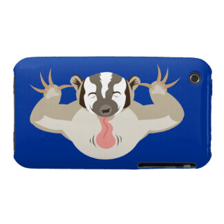 The Badgering Badger iPhone 3 Case