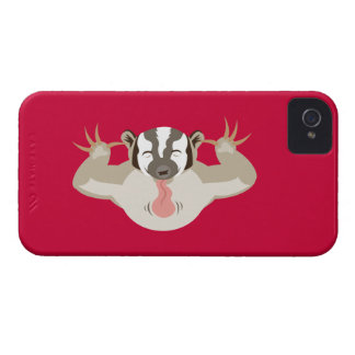 The Badgering Badger iPhone 4 Cover