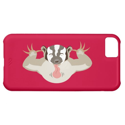 The Badgering Badger iPhone 5C Covers
