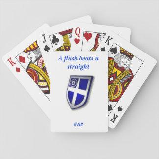 The Badger's Poker Reminder cards Card Deck