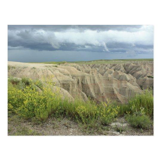 The Badlands Postcard