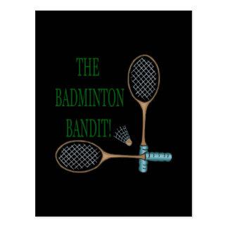 The Badminton Bandit 2 Postcard