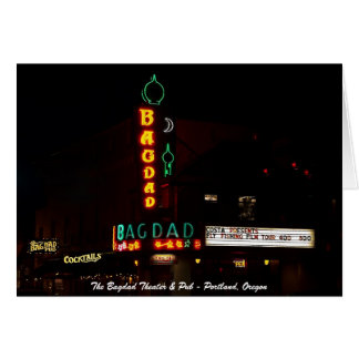 The Bagdad Theater & Pub Card