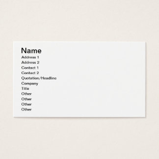 The Bagpiper Business Card
