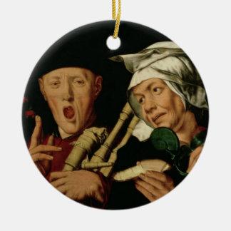 The Bagpiper Ceramic Ornament