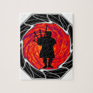 THE BAGPIPERS EVE JIGSAW PUZZLES
