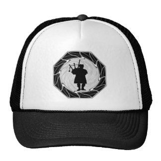 THE BAGPIPES SOMBER TRUCKER HAT