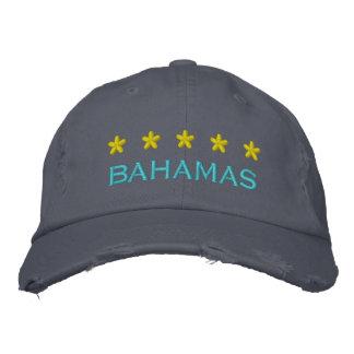 The BAHAMAS - 001 Embroidered Baseball Cap