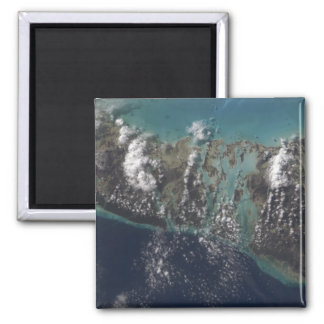 The Bahamas' Andros Island 2 2 Inch Square Magnet