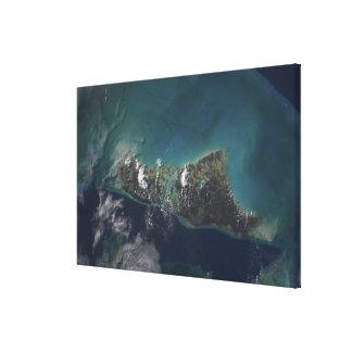 The Bahamas' Andros Island Canvas Print