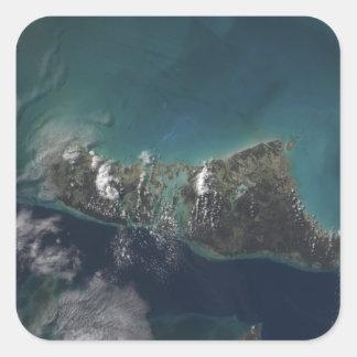 The Bahamas' Andros Island Square Sticker