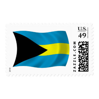 The Bahamas Flag Stamps