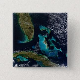 The Bahamas, Florida, and Cuba Button
