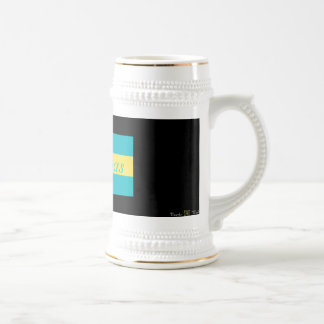 THE BAHAMAS 18 OZ BEER STEIN