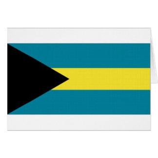 The Bahamas National Flag Greeting Card