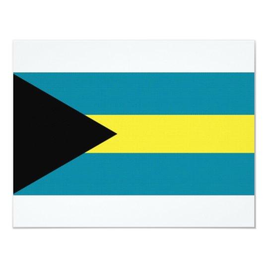 The Bahamas National Flag Card