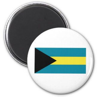 The Bahamas National Flag Refrigerator Magnet