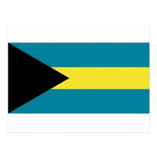 The Bahamas National Flag Postcard