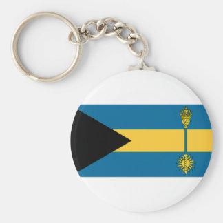 The Bahamas Prime Minister Flag Keychains