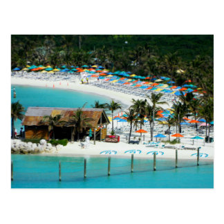 The Bahamas - South Andros - Castaway Cay Postcard