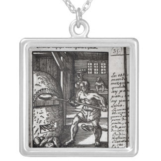 The Baker Silver Plated Necklace